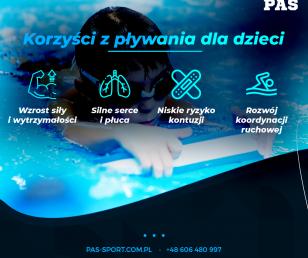 Korzyści z pływania dla dzieci